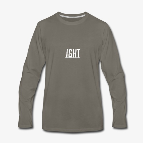 Ight - Men's Premium Long Sleeve T-Shirt