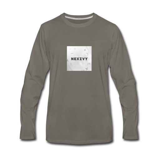 Nexzvy - Men's Premium Long Sleeve T-Shirt