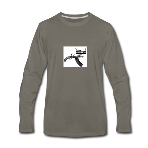 Ugly Gun - Men's Premium Long Sleeve T-Shirt