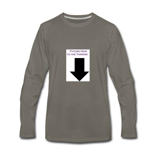 Heir - Men's Premium Long Sleeve T-Shirt