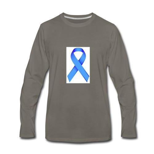 Blue Ribbon - Men's Premium Long Sleeve T-Shirt