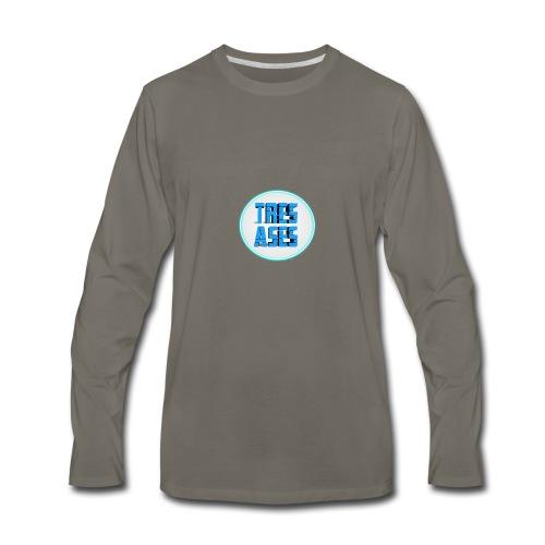 tres ases - Men's Premium Long Sleeve T-Shirt