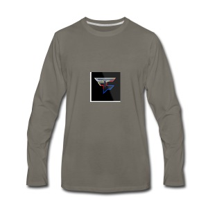 Faze Logo 05 - Men's Premium Long Sleeve T-Shirt