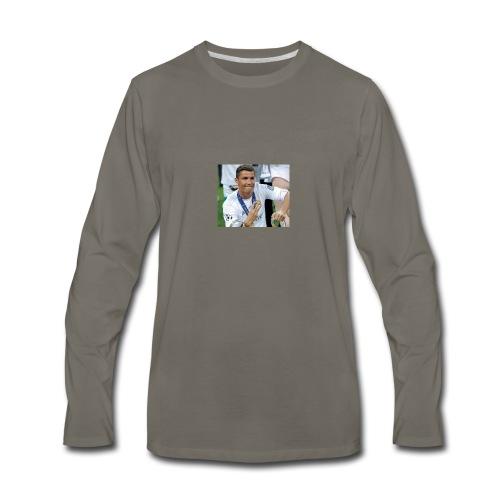 Cristiano Ronaldo - Men's Premium Long Sleeve T-Shirt