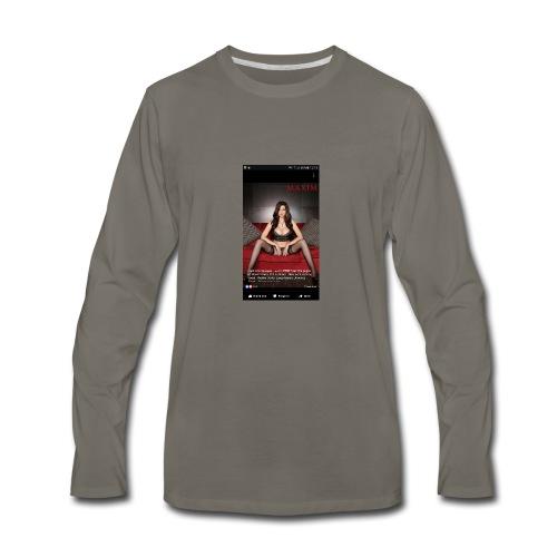 sexy girl - Men's Premium Long Sleeve T-Shirt