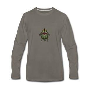 monster eye - Men's Premium Long Sleeve T-Shirt