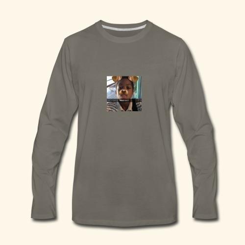 k - Men's Premium Long Sleeve T-Shirt