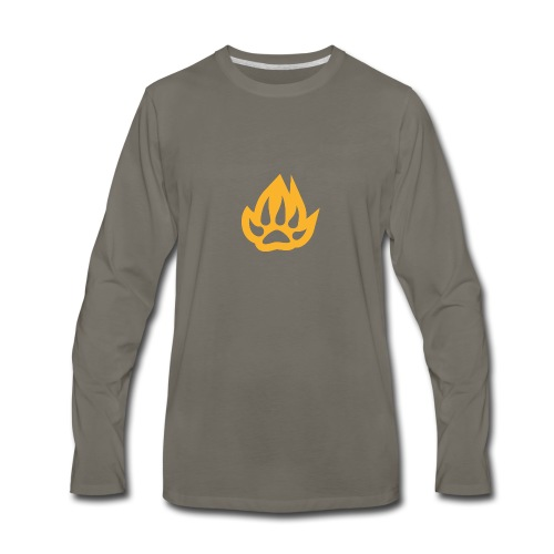 paw T-shirts - Men's Premium Long Sleeve T-Shirt