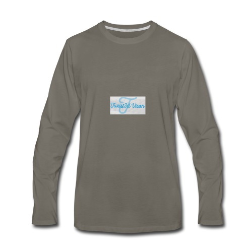 TwiiSt3D - Men's Premium Long Sleeve T-Shirt