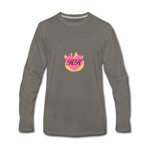 One Helluva Homemaker Logo - Men's Premium Long Sleeve T-Shirt