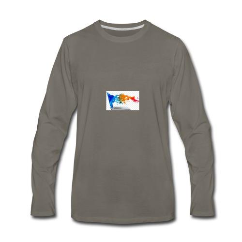 ic-7497 - Men's Premium Long Sleeve T-Shirt