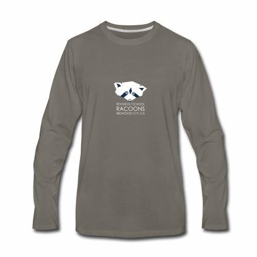 white transp - Men's Premium Long Sleeve T-Shirt