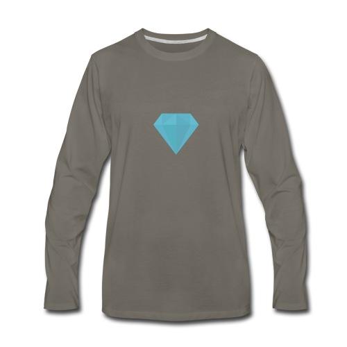 long sleeve Diamond shirt - Men's Premium Long Sleeve T-Shirt