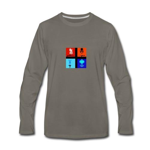 NitrosNaniacs logo - Men's Premium Long Sleeve T-Shirt