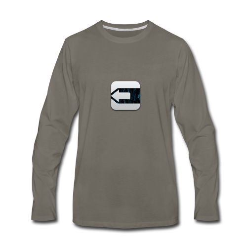 evasion jailbreak logo - Men's Premium Long Sleeve T-Shirt