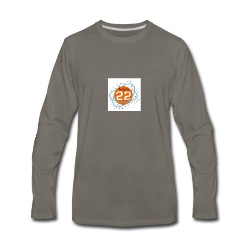 Isabella22 logo - Men's Premium Long Sleeve T-Shirt