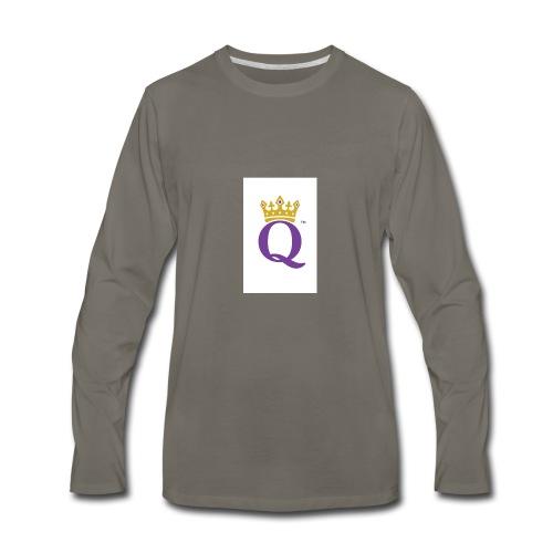 QUEEN CASE - Men's Premium Long Sleeve T-Shirt