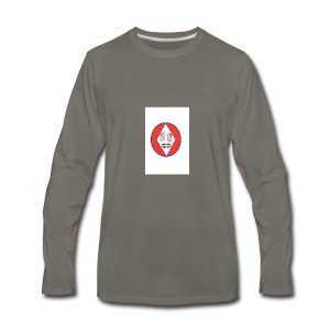 Red white reccklezz exchange - Men's Premium Long Sleeve T-Shirt