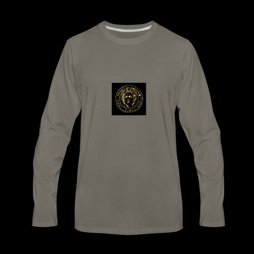 CAESAR GOLD1 - Men's Premium Long Sleeve T-Shirt