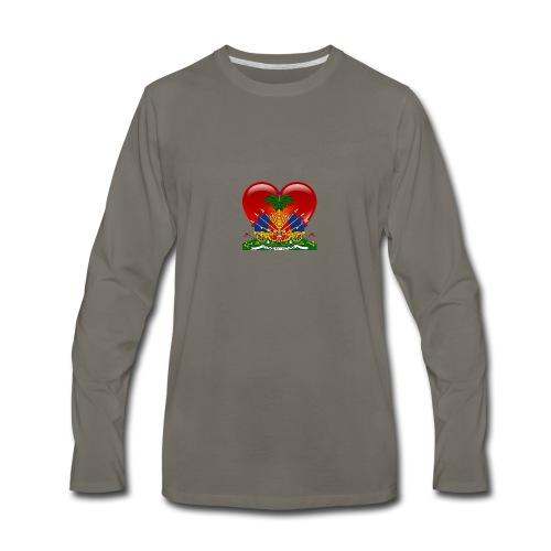 haiti - Men's Premium Long Sleeve T-Shirt