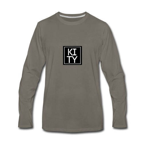 Kity na kvadrat - Men's Premium Long Sleeve T-Shirt