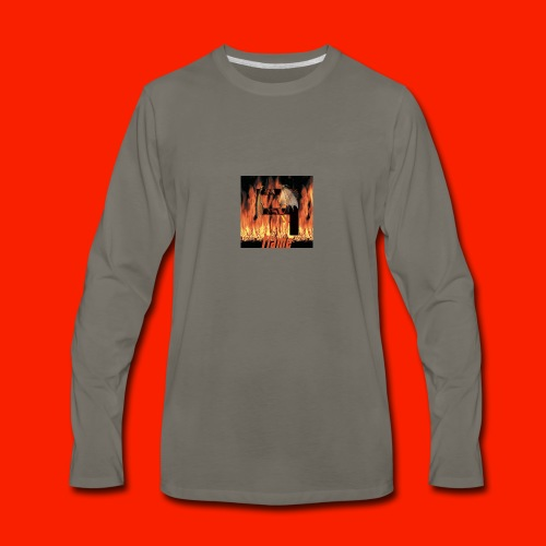 FAJ Flame Merch - Men's Premium Long Sleeve T-Shirt