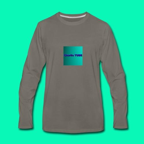 Charlie TUBE - Men's Premium Long Sleeve T-Shirt