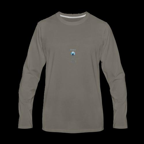 every heart has a beat - Men's Premium Long Sleeve T-Shirt