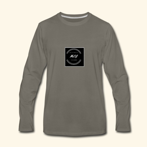 Circle - Men's Premium Long Sleeve T-Shirt