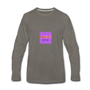 Roblox Sightings MERCH - Men's Premium Long Sleeve T-Shirt