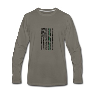 flag - Men's Premium Long Sleeve T-Shirt