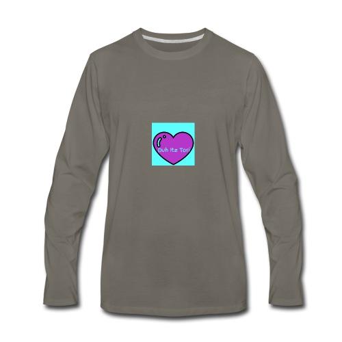 Tori's Logo Hoodie - Men's Premium Long Sleeve T-Shirt