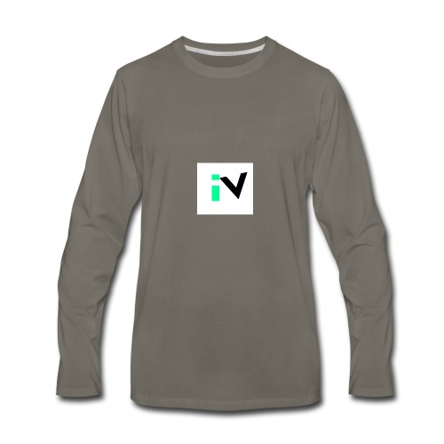 Isaac Velarde merch - Men's Premium Long Sleeve T-Shirt