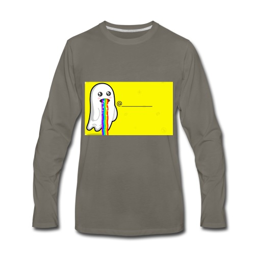 Snapchat - Men's Premium Long Sleeve T-Shirt