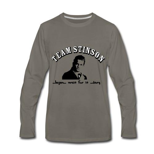 3134862_13873489_team_stinson_orig - Men's Premium Long Sleeve T-Shirt