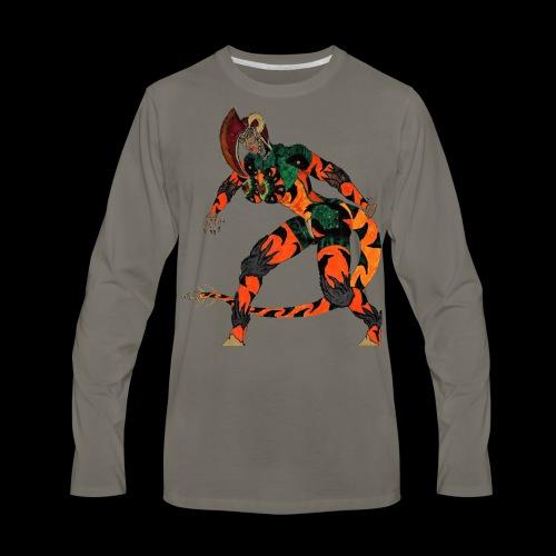 Saurosapien-ARC of IACF - Men's Premium Long Sleeve T-Shirt