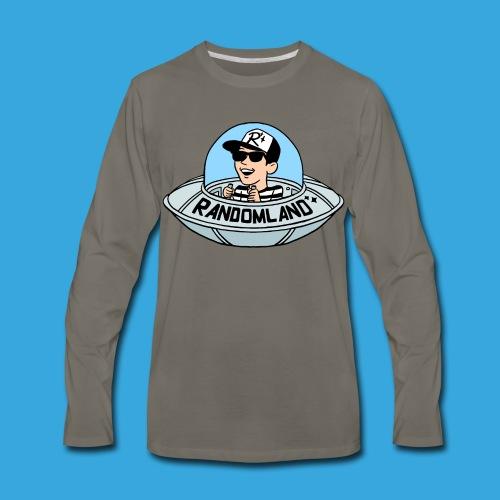 Randomland UFO - Men's Premium Long Sleeve T-Shirt