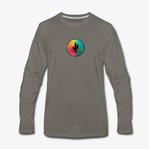 CACTUS - Men's Premium Long Sleeve T-Shirt