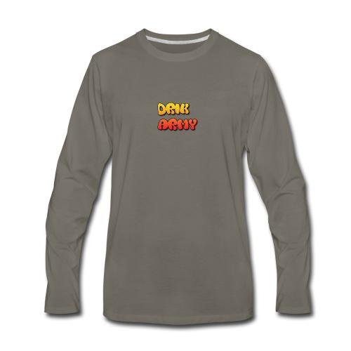 Drik Army T-Shirt - Men's Premium Long Sleeve T-Shirt