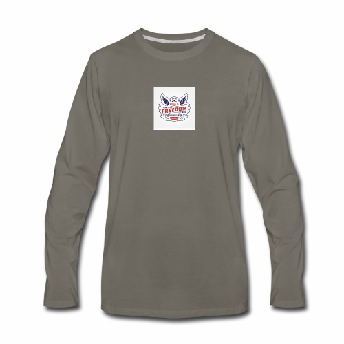 wings of freedom - Men's Premium Long Sleeve T-Shirt