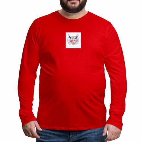 wings of freedom - Men's Premium Long Sleeve T-Shirt