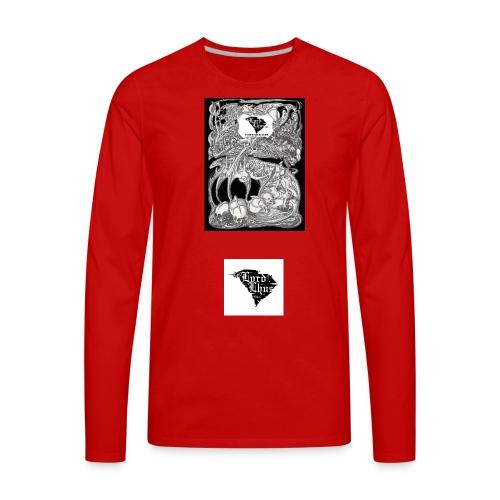 Skulls, Mushrooms, And Opium - Men's Premium Long Sleeve T-Shirt