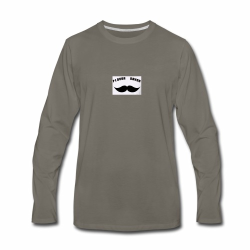 Flavor Saver - Men's Premium Long Sleeve T-Shirt