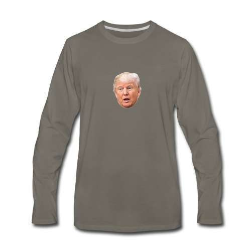 I will build a wall - Men's Premium Long Sleeve T-Shirt