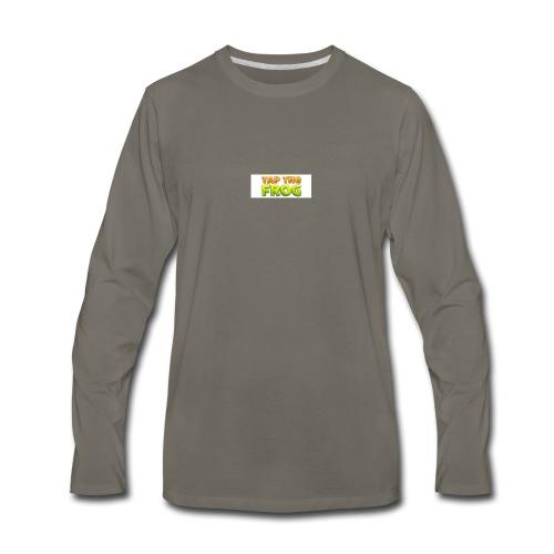 Tap the frog - Men's Premium Long Sleeve T-Shirt