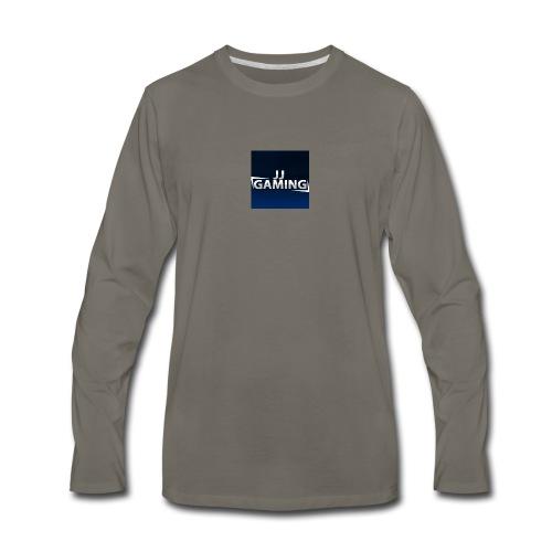 JJ Gaming logo - Men's Premium Long Sleeve T-Shirt