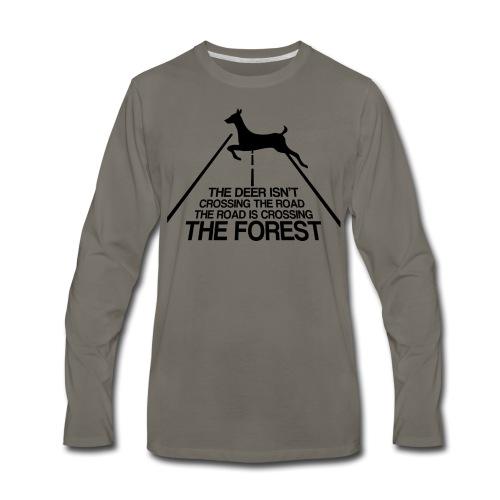 Deer's forest - Men's Premium Long Sleeve T-Shirt