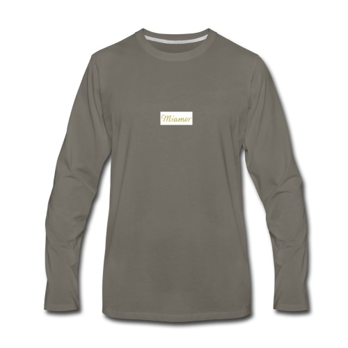 MIAMOR - Men's Premium Long Sleeve T-Shirt