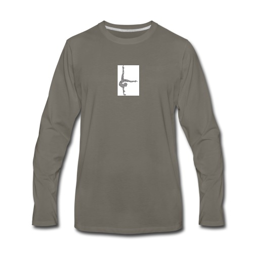 Kendallm - Men's Premium Long Sleeve T-Shirt