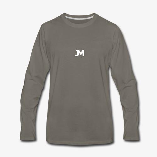 JM Logo - Men's Premium Long Sleeve T-Shirt